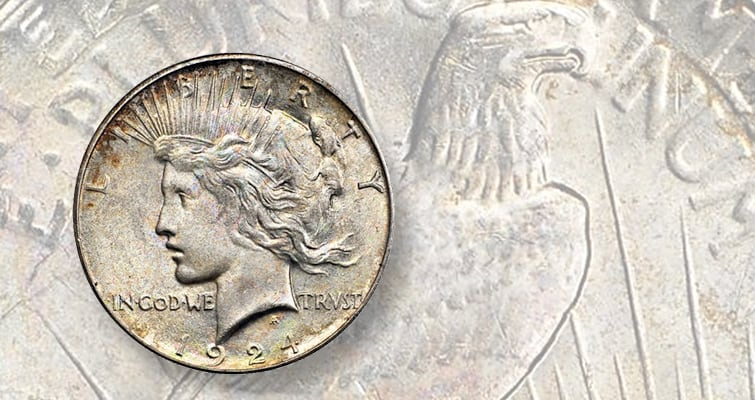 History of 1924 Peace Silver Dollar