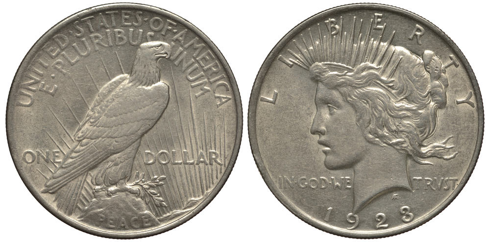 History of the 1928 Peace Silver Dollar