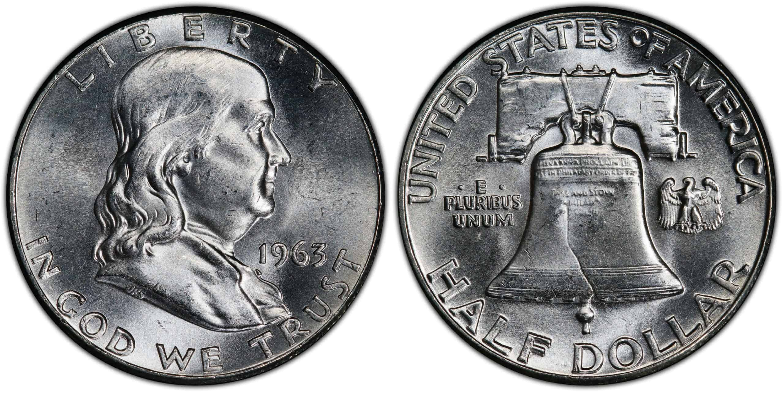History of the 1963 Franklin Half Dollar