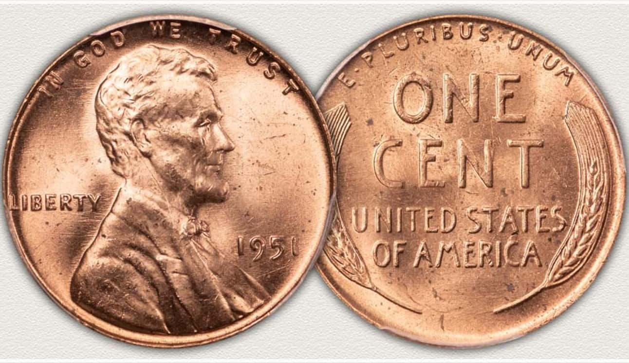 Value of the 1951 Wheat Penny