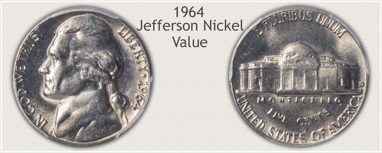 Value of the 1964 Jefferson Nickel