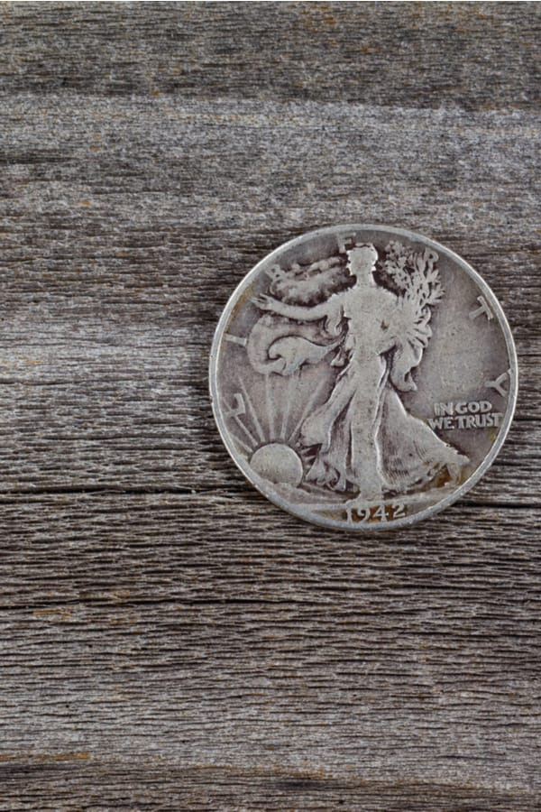 Walking Liberty Half Dollar Mintage How many pieces were minted