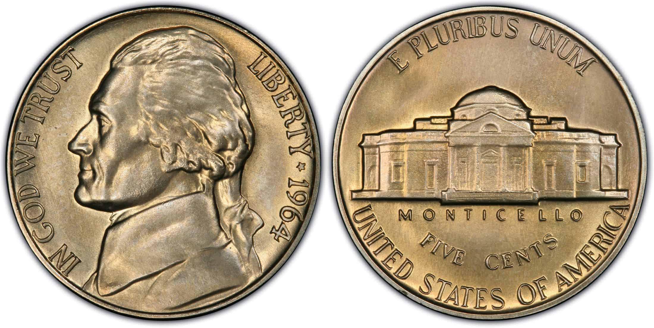 What Is 1964 Jefferson Nickel