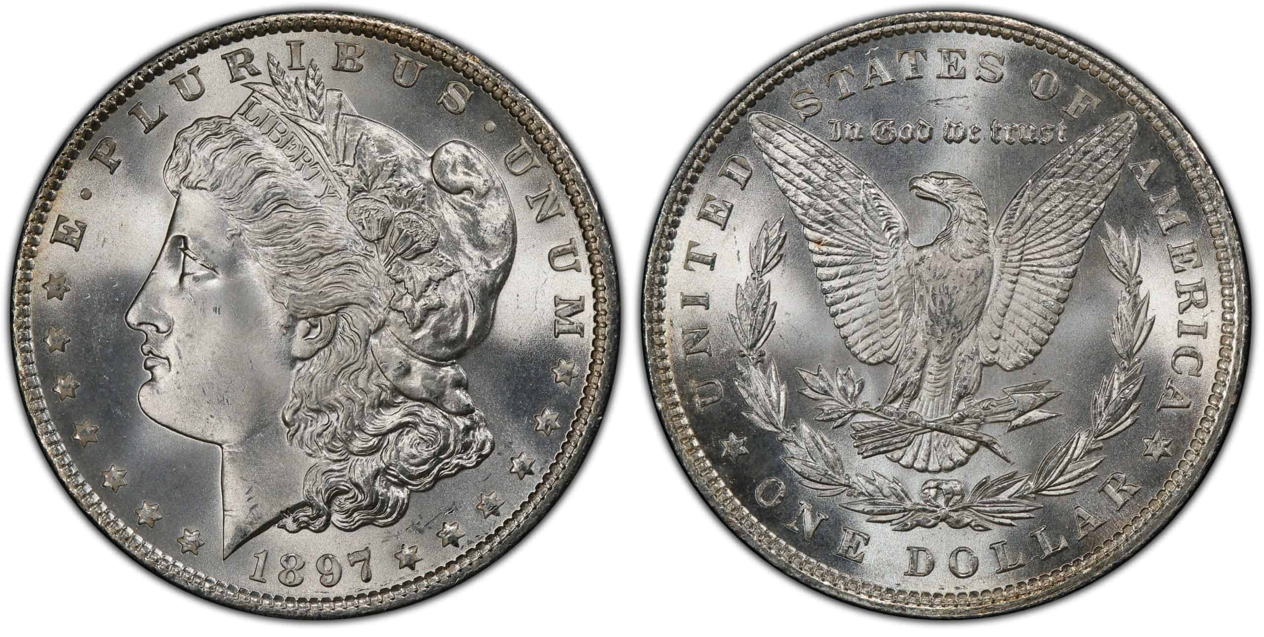 What is the 1897 Morgan Silver Dollar