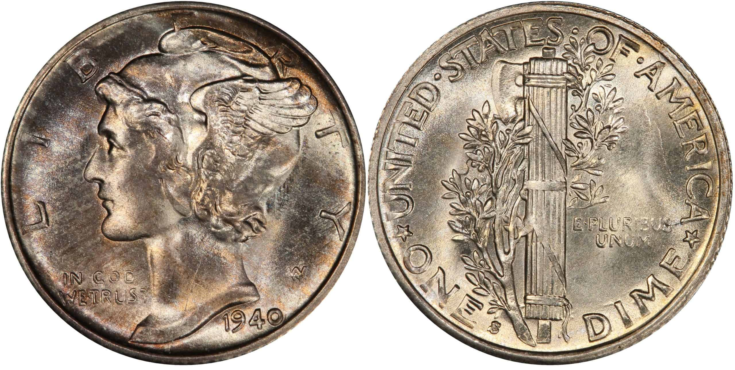 What is the 1940 Dime