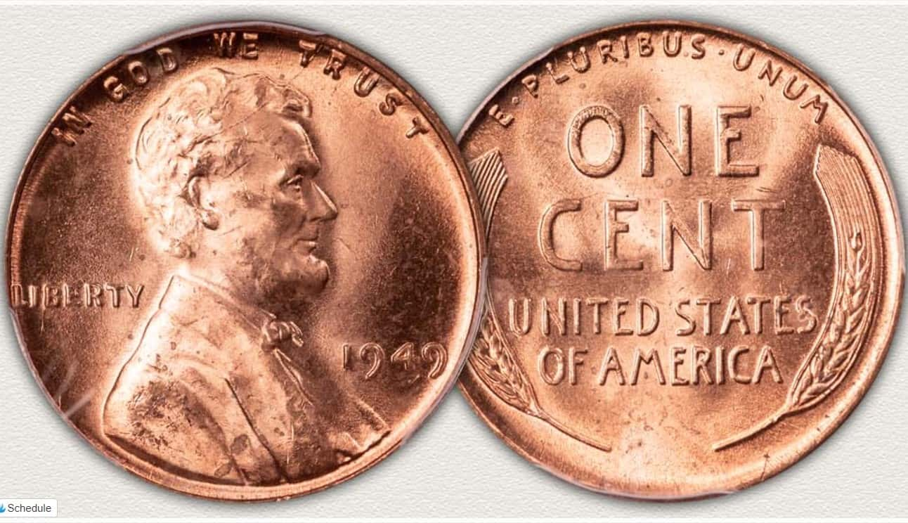 What is the 1949 Penny